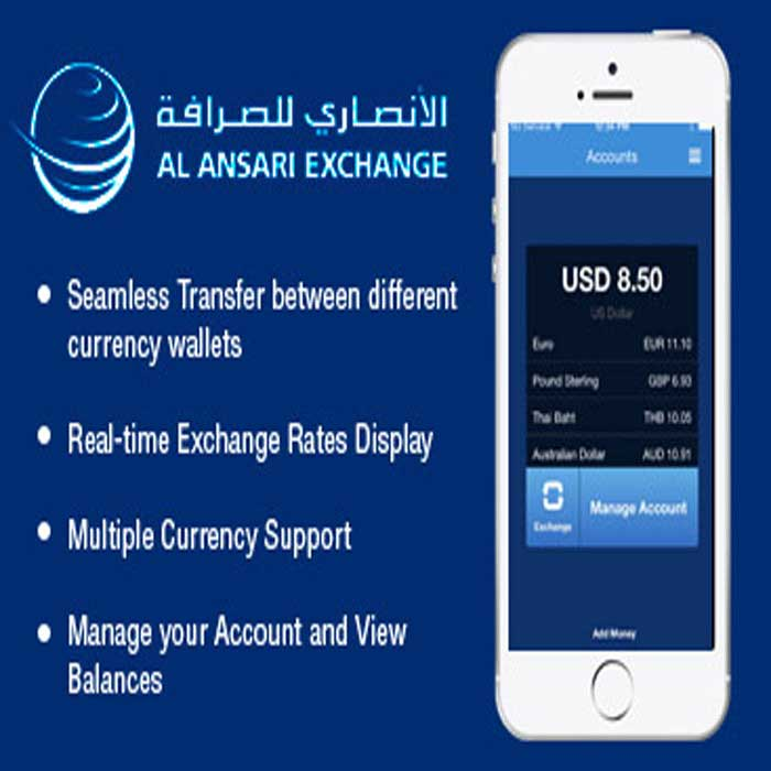 Al Ansari Exchange App Development