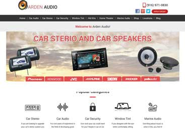 Arden Way Audio Website Developer
