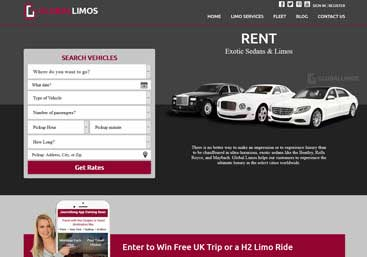 Global Limos Website Developer