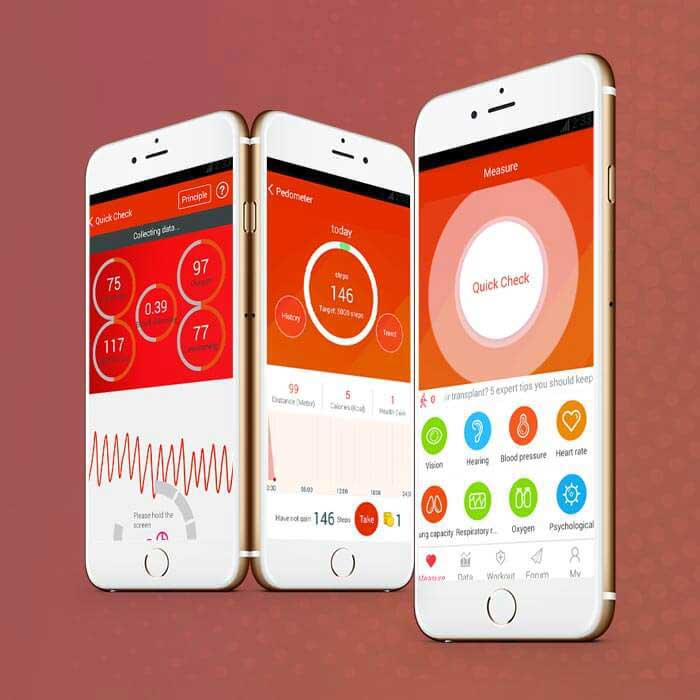 iCare Health iPhone application